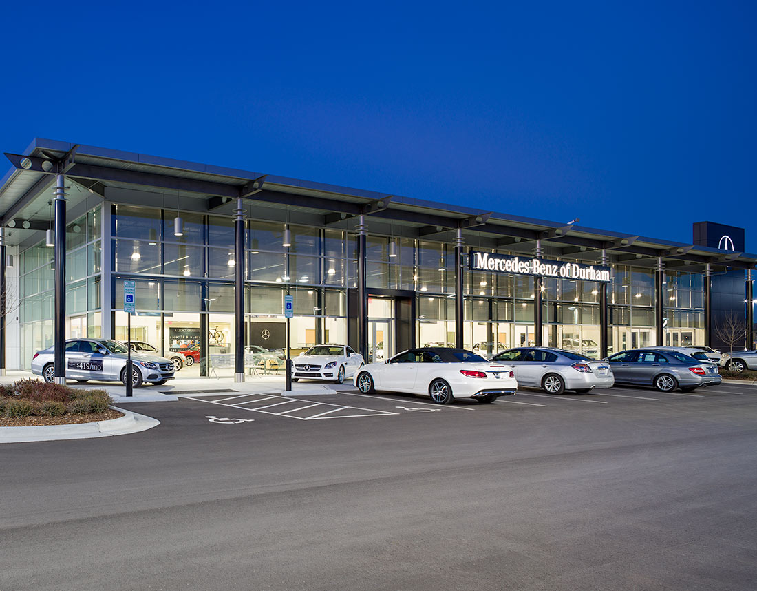 Hendrick automotive group vannoy construction for Mercedes benz of durham nc