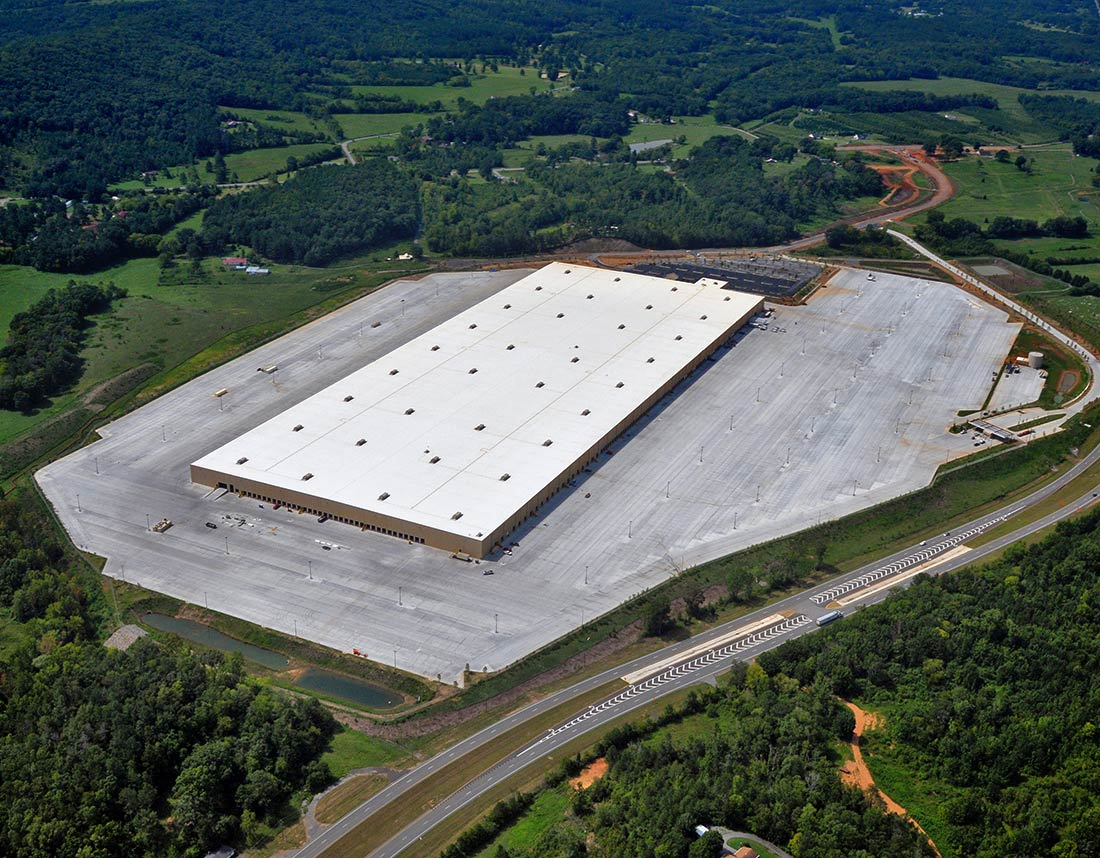Lowe S Distribution Center Aerial