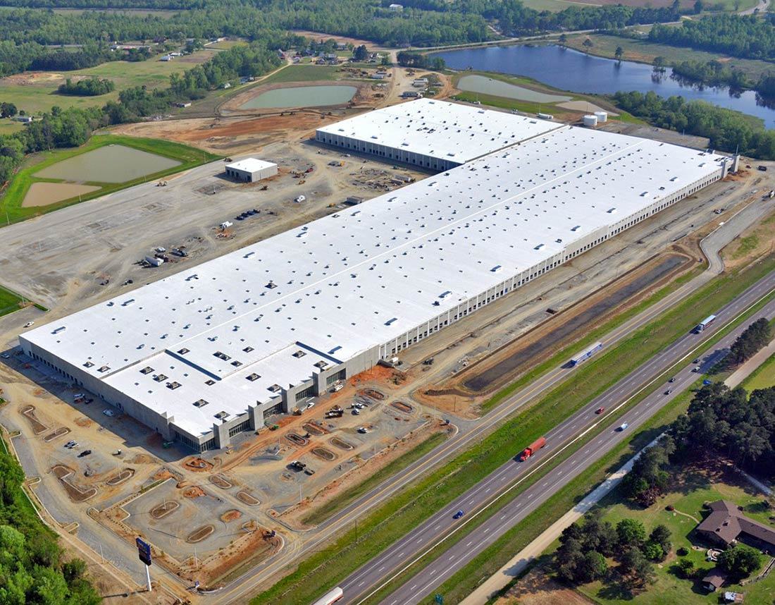 Rooms To Go Distribution Center | Vannoy Construction