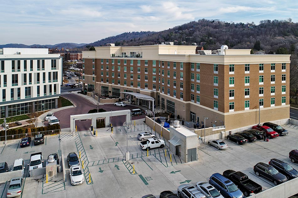 Hilton garden inn asheville vannoy construction for Hilton garden inn asheville nc