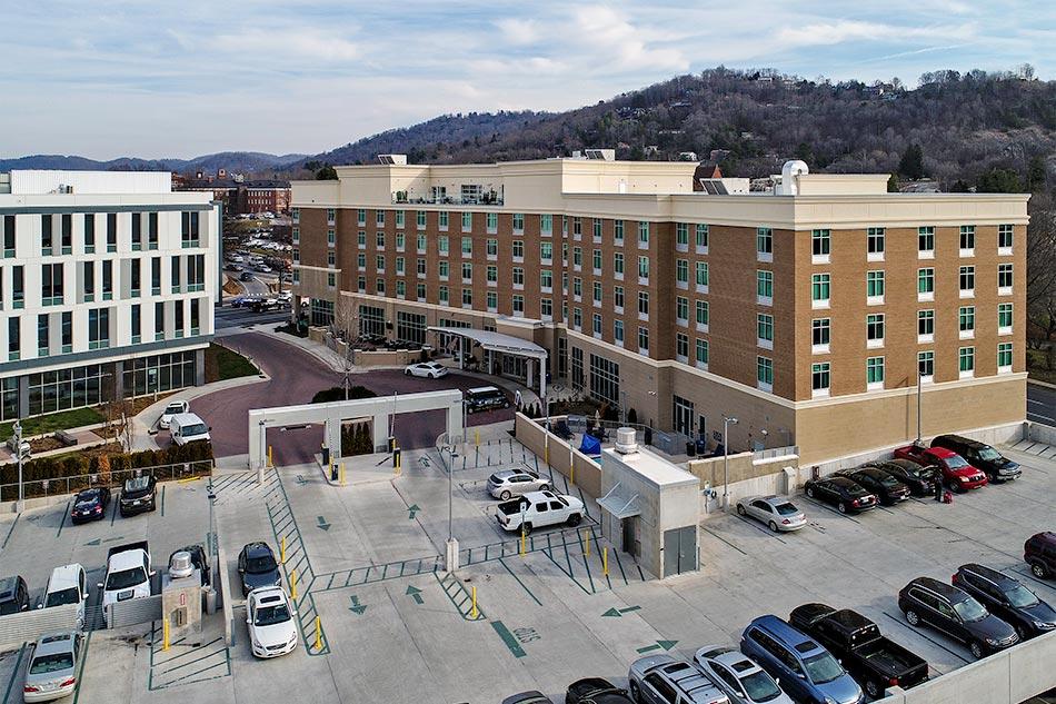Hilton Garden Inn Asheville Vannoy Construction